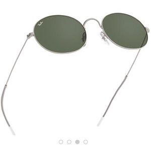 237e3022b3c Ray-Ban Accessories - NWT Ray Ban Beat sunglasses silver green classic